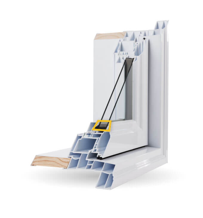 Bay Windows - Tremco® EnerEDGE® Warm-Edge Spacer