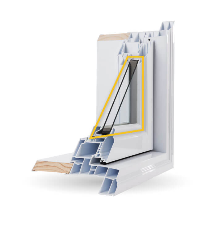 Casement Windows - Double-Glazed Low-E Argon Gas