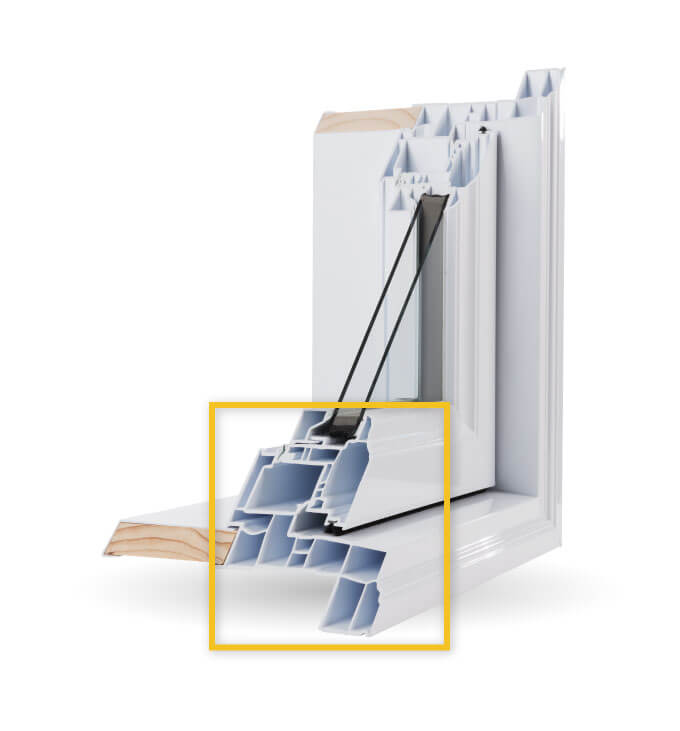 Casement Windows - Multi-Chamber Construction