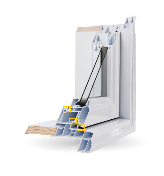 Casement Windows - Triple Weather Seals