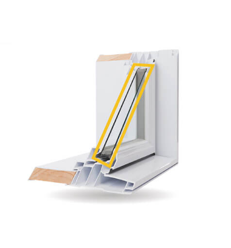 Custom Shaped Windows - Double-Glazed Low-E Argon Gas