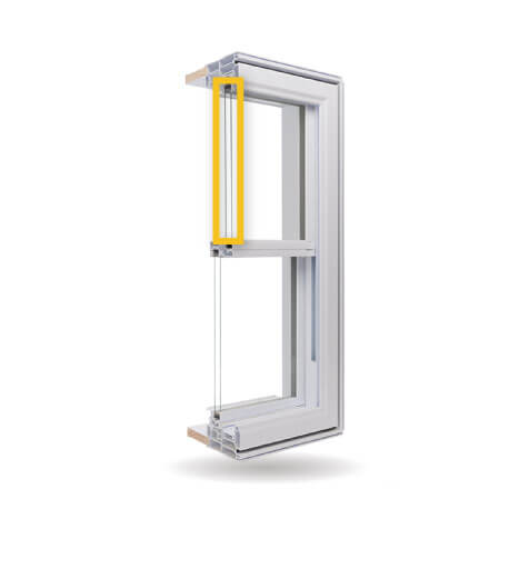 Double Slider Windows - Double-Glazed Low-E Argon Gas