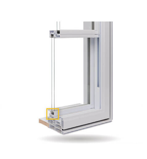 Double Slider Windows - Tremco® EnerEDGE® Warm-Edge Spacer