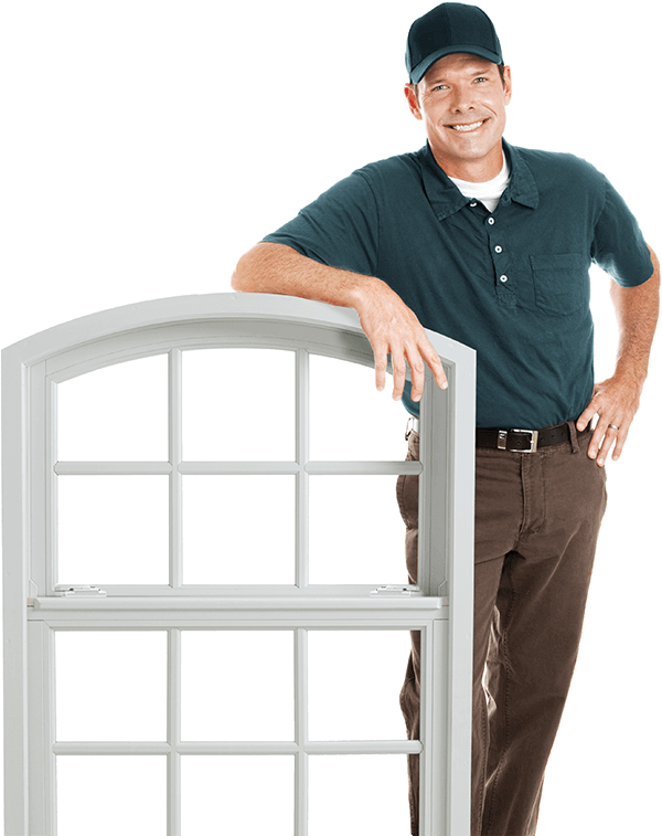 Professional windows installer with pvc window